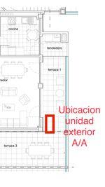 Informacion para la instalacion unidad exterior aire acondicionado
