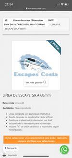 ¿Como puedo saber el escape que debo comprar?
