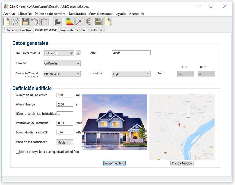 ce3x certificacion energetica de edificios paso 3