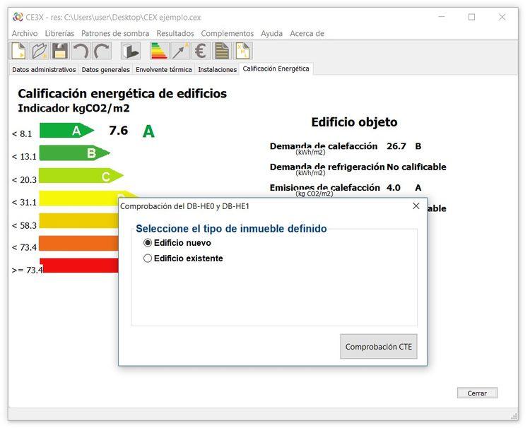 ce3x certificacion energetica de edificios paso 8