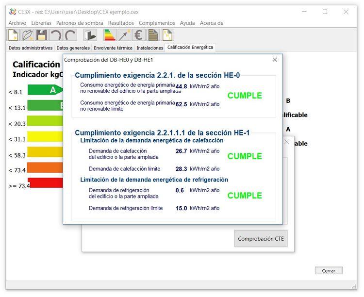 ce3x certificacion energetica de edificios paso 9