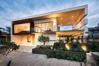 Diseño de exteriores de una casa