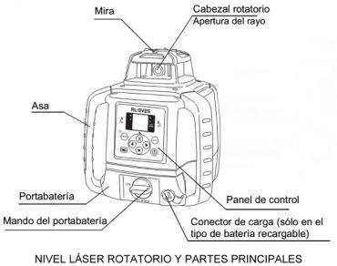 nivel laser rotatorio