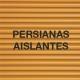 Las persianas aislantes
