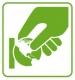 ¿Cómo debe orientarse el 'céntimo verde'?
