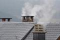 Emisiones de CO2 producidas por calefacción en las provincias españolas