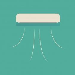 Consumo energético de refrigeración según el año de construcción de los edificios