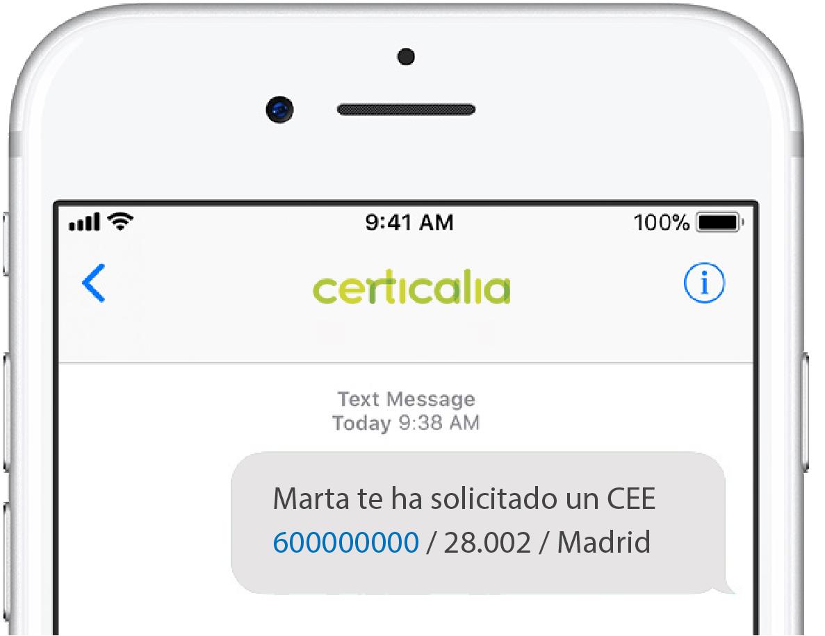 SMS Certicalia