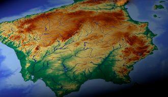 Mapa de zonas climáticas de España