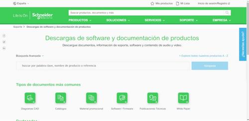 Schneider Electric Software y herramientas