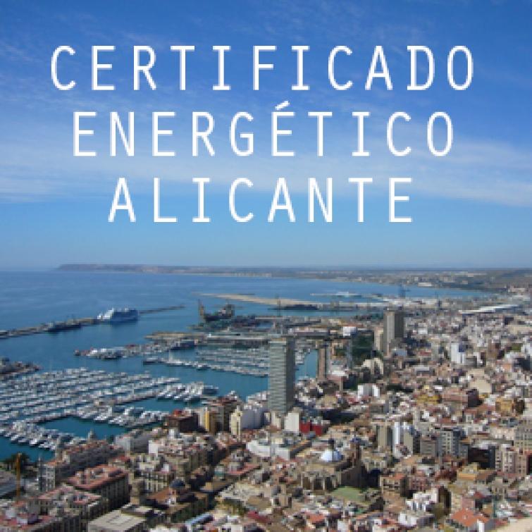 Precio del certificado energético en Alicante. Desde 65 euros
