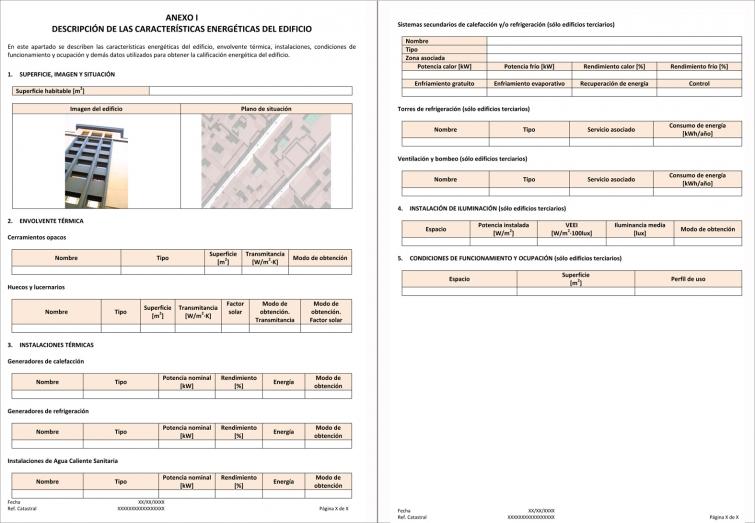 Certificado de Eficiencia Energética. El Informe