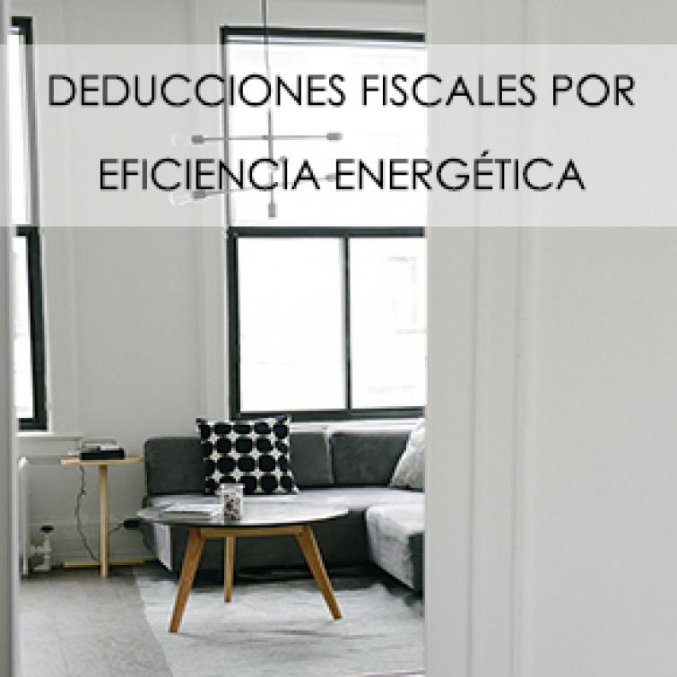 Deducciones Fiscales por Eficiencia Energética