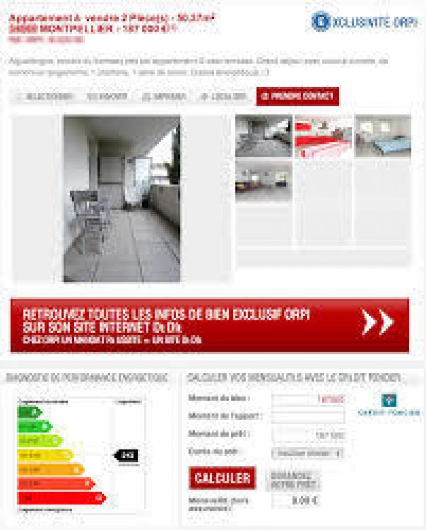 etiqueta portal inmobiliario