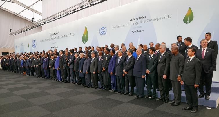 cumbre climatica paris