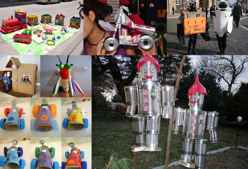 juguetes material reciclado