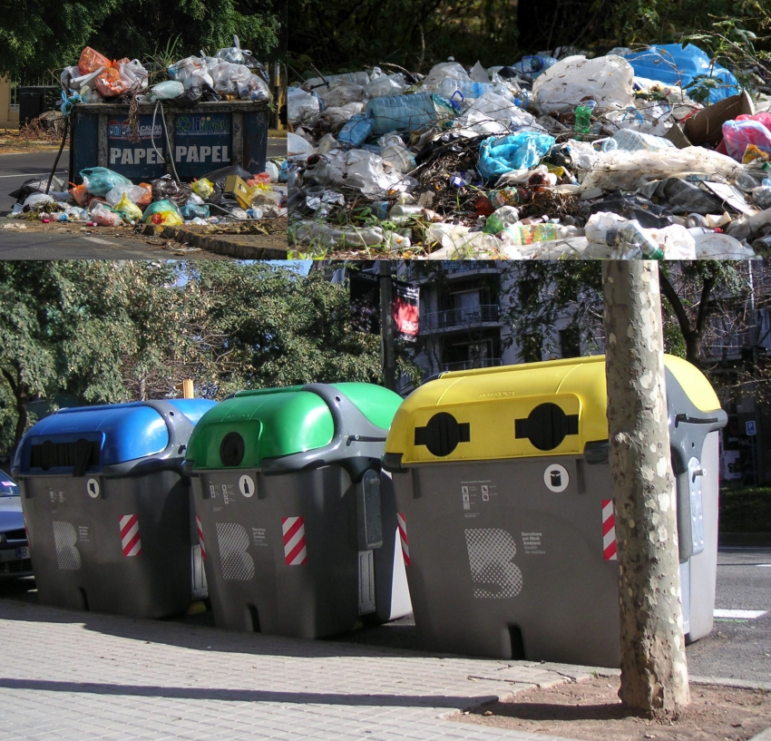 reciclaje separar basura
