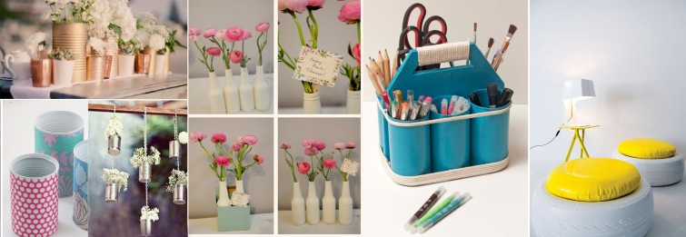 diy material reciclado decoracion