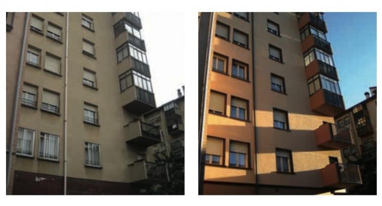 envolvente termica exterior edificio sate
