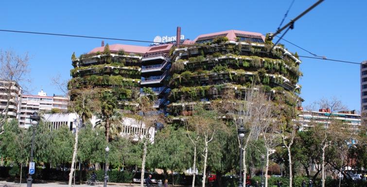 arquitectura verde barcelona