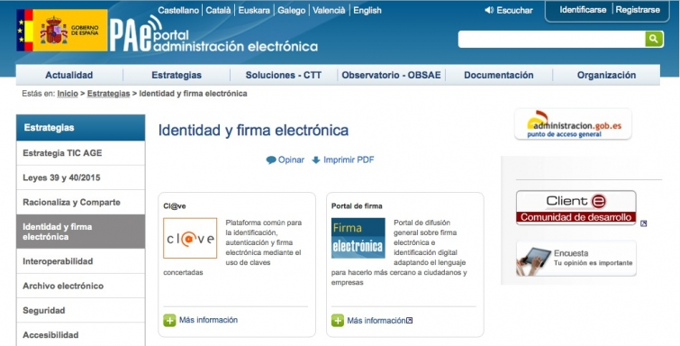 firma electronica administracion
