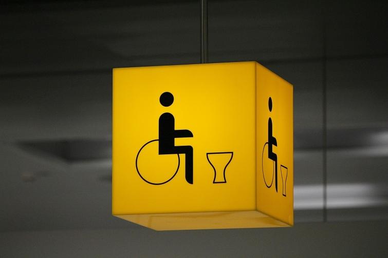 accesibilidad baño minusvalidos