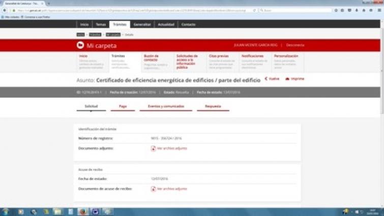 certificado eficiencia energetica cataluña