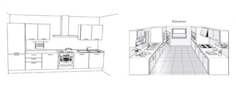 C mo hacer el plano de una cocina for Planos de cocinas 4x4