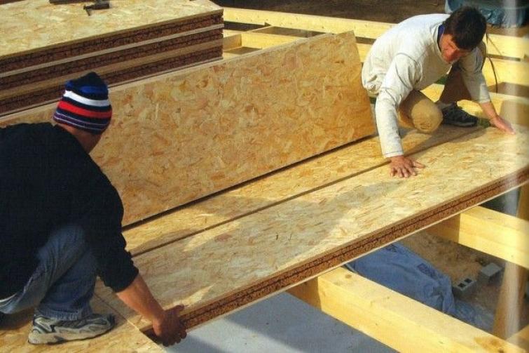Aislantes t rmicos en casa for Planchas de madera para paredes