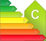 Calificación energética C para Piso, 50-80 m2 en