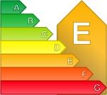 Calificación energética E para Piso, 50-80 m2 en